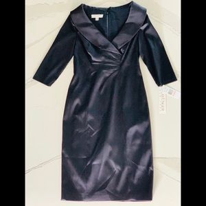 Kay Unger Navy Cocktail Dress 2 NWT